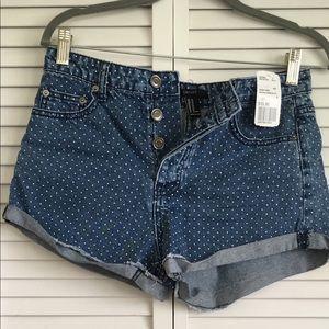 NWT - Forever 21 Polka Dot Shorts